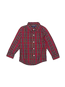 Cherokee Long Sleeve Button-Down Shirt Size 4T