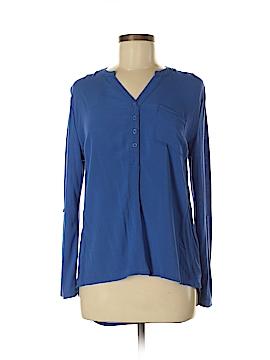 Faded Glory Long Sleeve Blouse Size 8 - 10