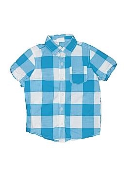 Crazy 8 Short Sleeve Button-Down Shirt Size X-Small  (Kids)