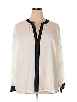 Be Lush Long Sleeve Blouse Size 4X (Plus)
