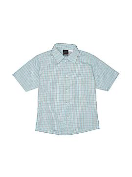Van Heusen Short Sleeve Button-Down Shirt Size 7