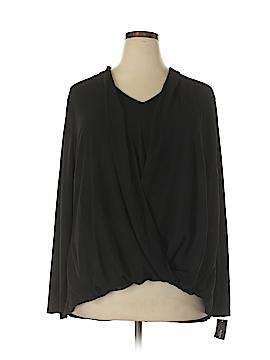 Alfani Long Sleeve Blouse Size 24W (Plus)