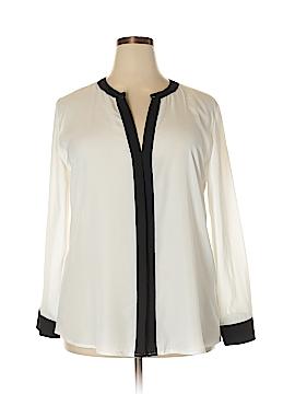 Be Lush Long Sleeve Blouse Size 2X (Plus)
