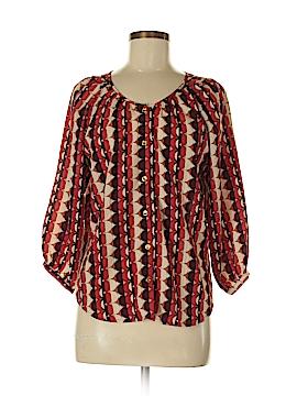 Sunny Leigh 3/4 Sleeve Blouse Size XS