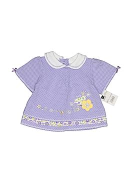 Baby Okie Dokie Short Sleeve Blouse Size 6-9 mo