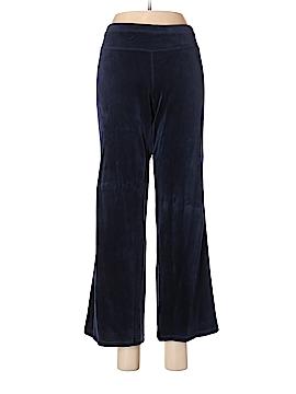 Mandarin Blue Velour Pants Size M