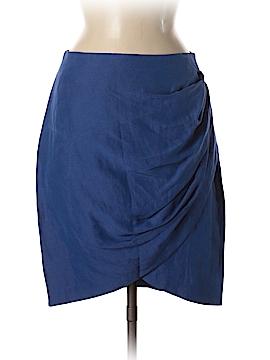 Whit Silk Skirt Size 8
