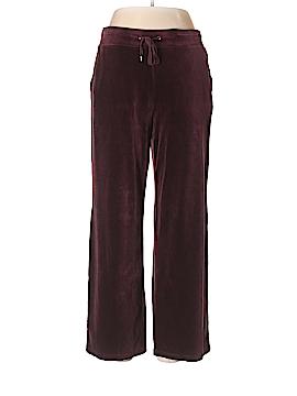 Talbots Velour Pants Size L