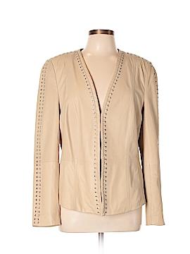Basler Leather Jacket Size 42 (EU)