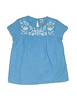 OshKosh B'gosh Short Sleeve Blouse Size 7