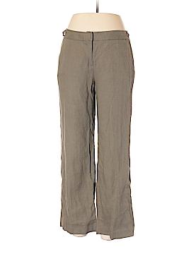 Laura Clement Collection Linen Pants Size 10