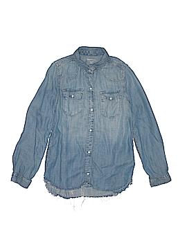 Gap Kids Long Sleeve Button-Down Shirt Size 10-11