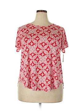 Alfani Short Sleeve T-Shirt Size 1X (Plus)