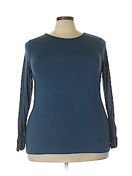Alfani Long Sleeve T-Shirt Size 3X (Plus)