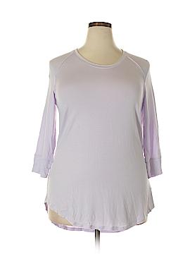 Melissa McCarthy Seven7 3/4 Sleeve T-Shirt Size 0X (Plus)