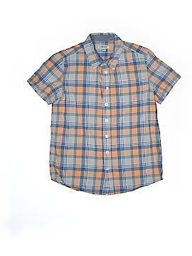 Cherokee Short Sleeve Button-Down Shirt Size 12 - 14
