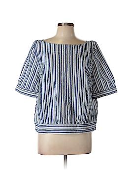 Halogen Short Sleeve Blouse Size L