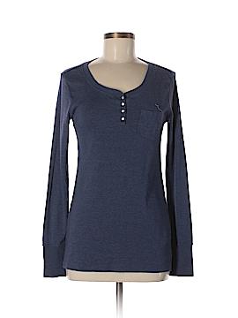 Make + Model Long Sleeve Henley Size M