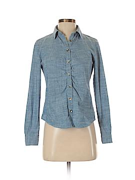 Jones New York Long Sleeve Button-Down Shirt Size P (Petite)