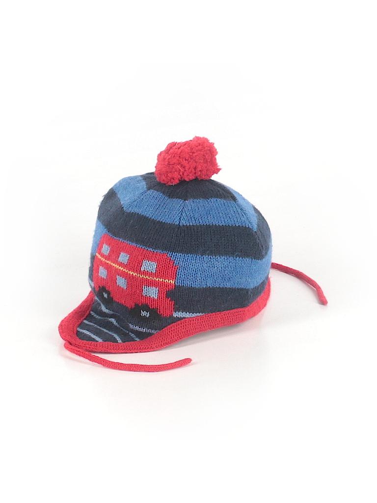 JoJo Maman Bebe Stripes Dark Blue Winter Hat Size 3 - 5 - 73% off ... 86a432b4dfd
