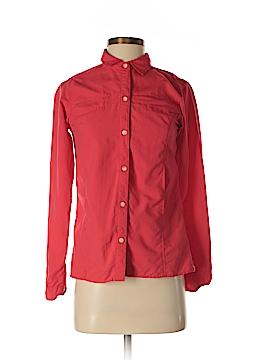 ExOfficio Long Sleeve Button-Down Shirt Size XS (0-2)