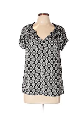 Caslon Short Sleeve Blouse Size M