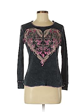 Style&Co Long Sleeve T-Shirt Size M (Petite)