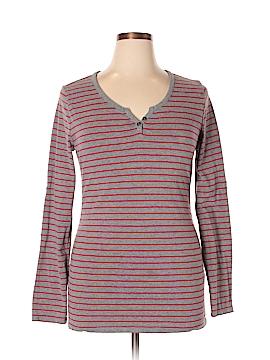 Liz Lange Maternity for Target Long Sleeve Henley Size XL (Maternity)