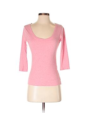 Moda International 3/4 Sleeve T-Shirt Size S
