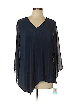 Alfani Long Sleeve Top Size 0X (Plus)