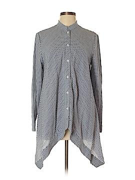 Anne Klein 3/4 Sleeve Button-Down Shirt Size 10
