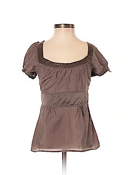 Jacob Short Sleeve Silk Top Size XS
