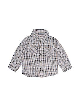 Peek... Long Sleeve Button-Down Shirt Size 6-12 mo