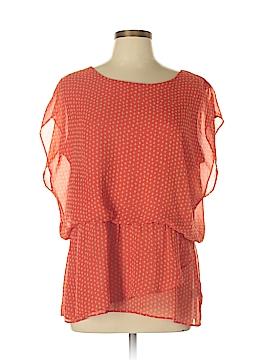 Bobeau Short Sleeve Button-Down Shirt Size XL