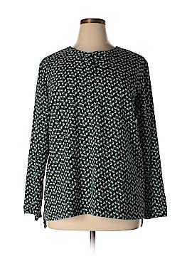 Van Heusen Long Sleeve Blouse Size XL