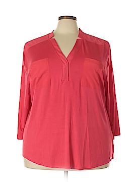 Calvin Klein Long Sleeve Top Size 3X (Plus)
