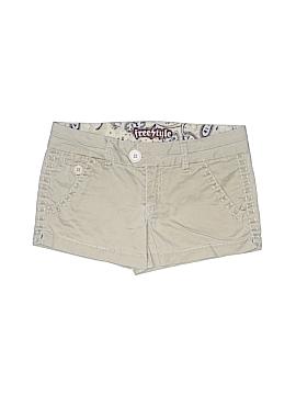 Freestyle Khaki Shorts Size 6