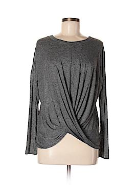 Bobeau Long Sleeve Top Size M