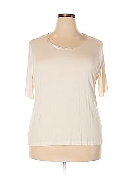 Halogen Short Sleeve T-Shirt Size 2X (Plus)