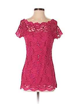 Boston Proper Short Sleeve Blouse Size S