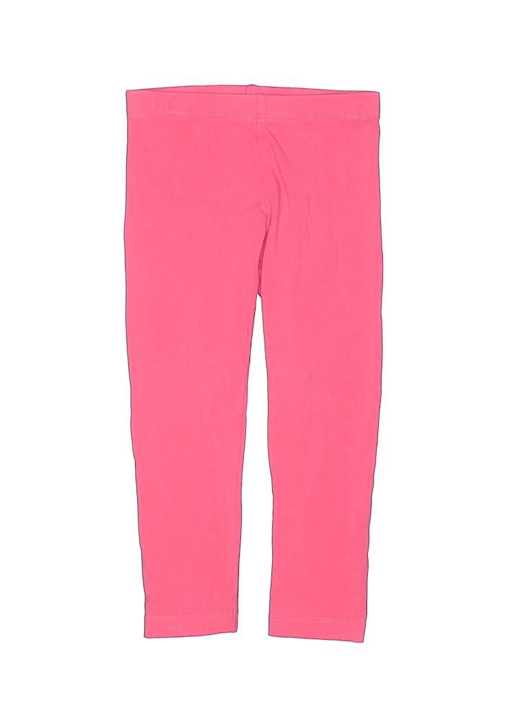 7ce99bca7f8df Gymboree Solid Pink Leggings Size 3T - 76% off | thredUP