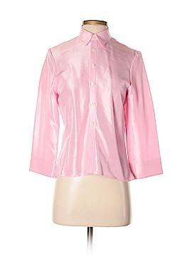 Ralph Lauren Long Sleeve Silk Top Size S