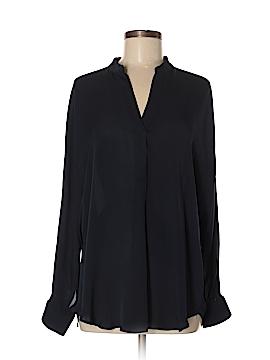 Vince. Long Sleeve Silk Top Size M