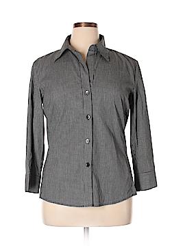 Harve Benard by Benard Haltzman Long Sleeve Button-Down Shirt Size XL