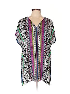 Chaus Short Sleeve Blouse Size XL