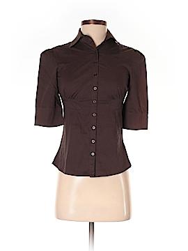 Dynamite 3/4 Sleeve Button-Down Shirt Size XS