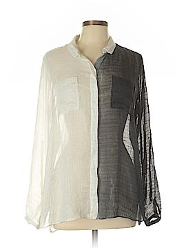 T Tahari Long Sleeve Blouse Size L