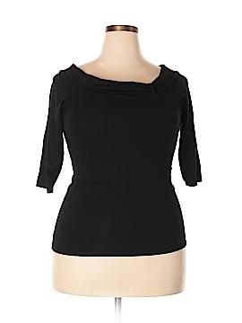 Newport News 3/4 Sleeve Top Size 1X (Plus)