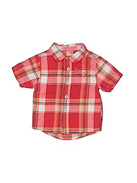 Healthtex Short Sleeve Button-Down Shirt Size 12 mo