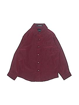 Arrow Long Sleeve Button-Down Shirt Size 7